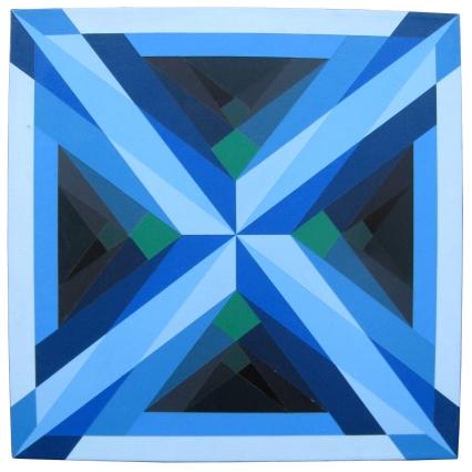 Mirrors (blue), 2003